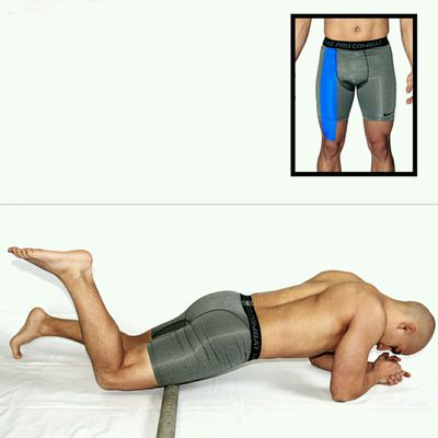 Stretch Rectus Femoris (Pvc Pipe)
