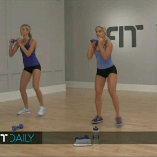 How to do: Moving Squat - Step 1