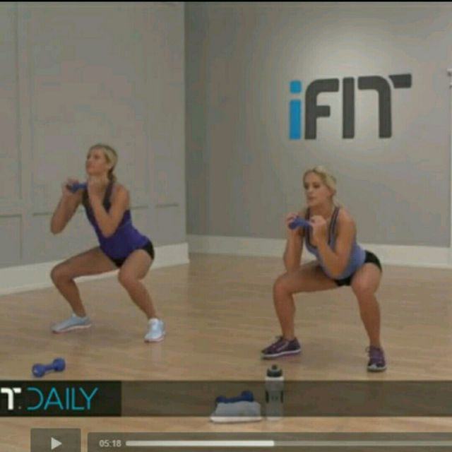 How to do: Moving Squat - Step 2