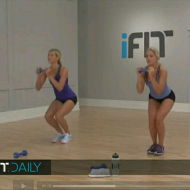 How to do: Moving Squat - Step 3