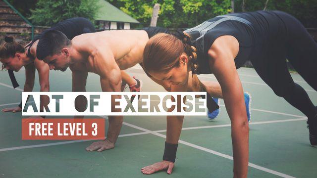 Art of Exercise: Free Level III