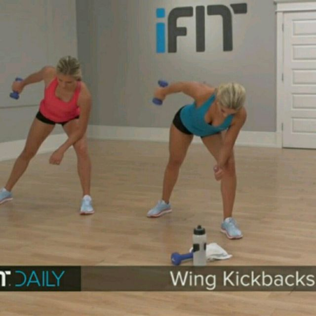 How to do: Wing Kickbacks - Step 3