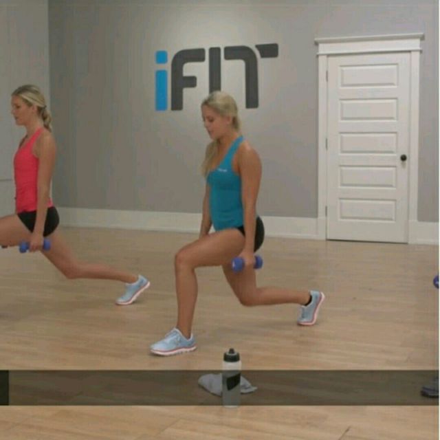 How to do: Pulsating Lunge - Step 2