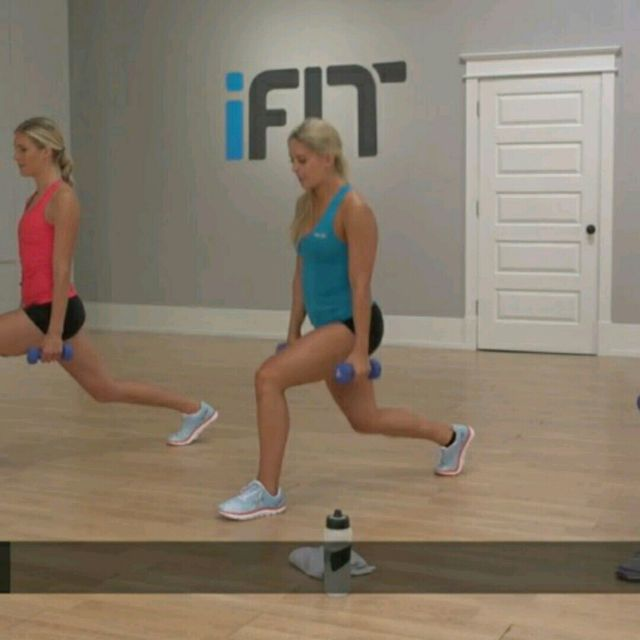 How to do: Pulsating Lunge - Step 3