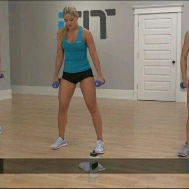 How to do: Side To Calf Raise - Step 1