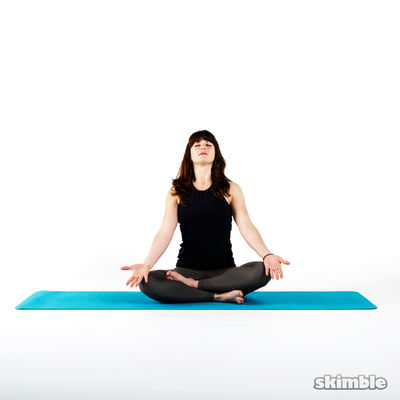 Easy Pose for Meditation