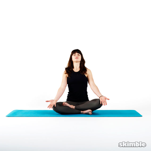 How to do: Easy Pose Meditation - Step 2