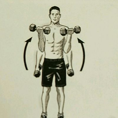 3 Way Barbell Curl