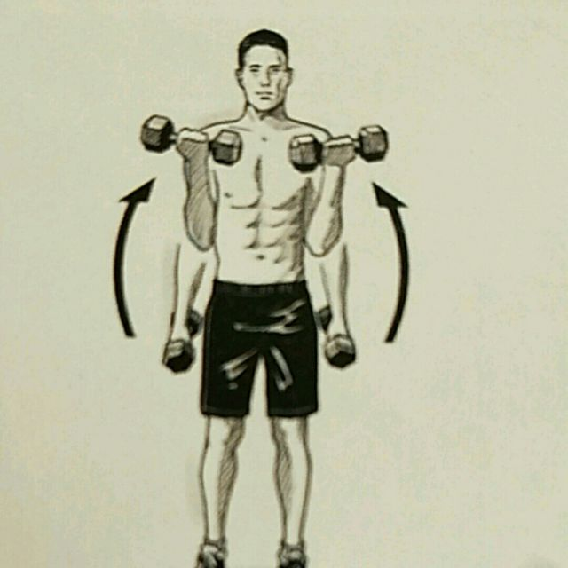 How to do: 3 Way Barbell Curl - Step 1