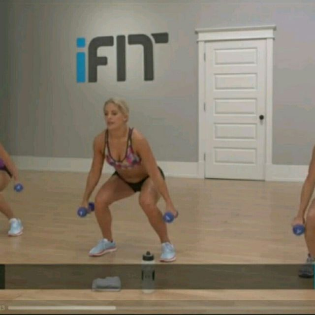 How to do: Squat Twist Plus Punch - Step 1