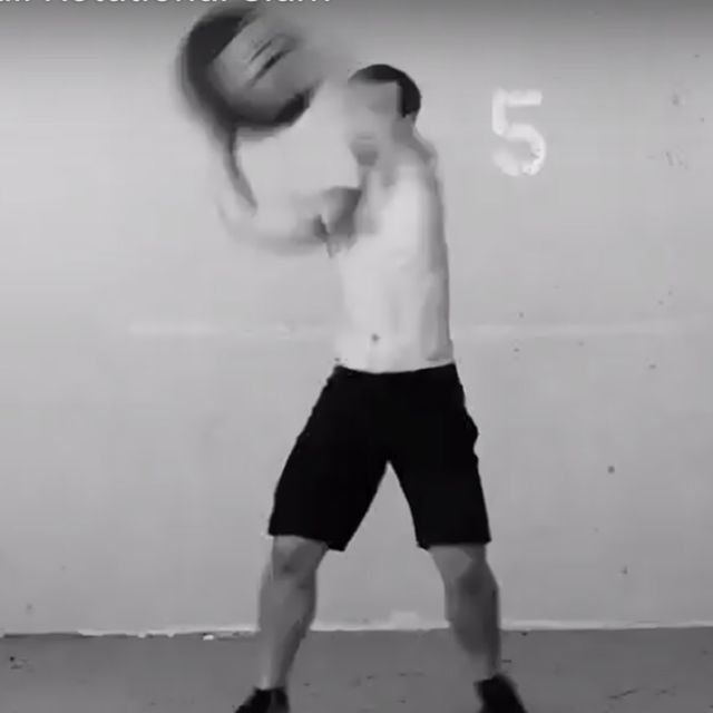 How to do: Medicine Ball Rotational Slam - Step 2