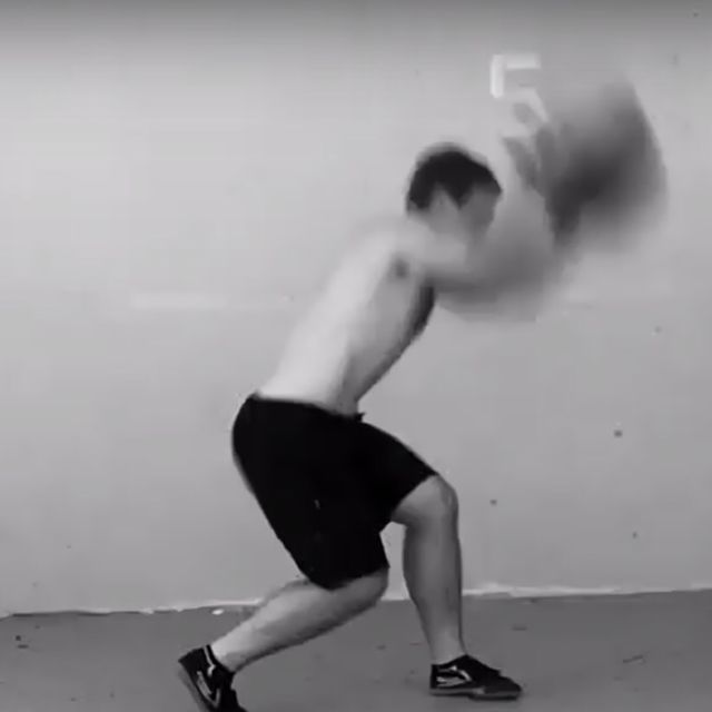 How to do: Medicine Ball Rotational Slam - Step 3