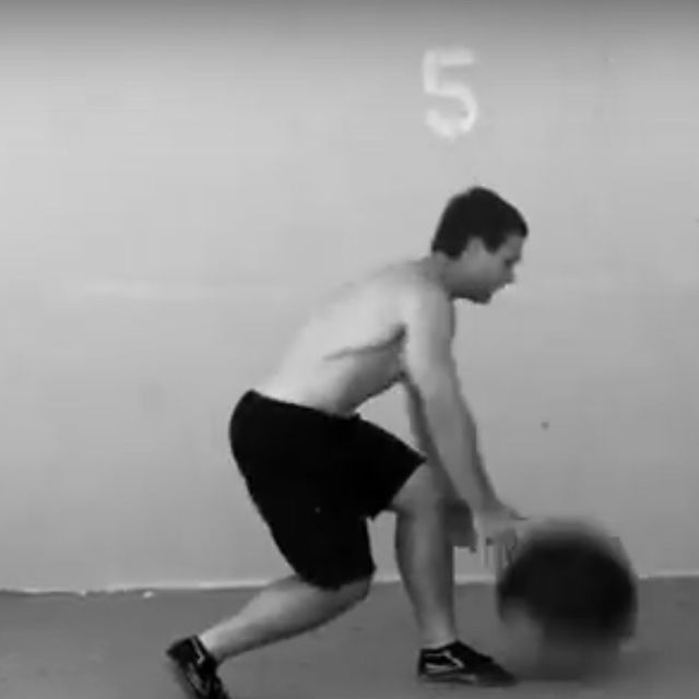 How to do: Medicine Ball Rotational Slam - Step 4