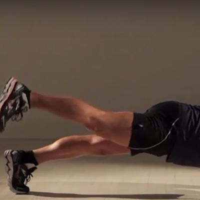Plank Alternating Leg Lift