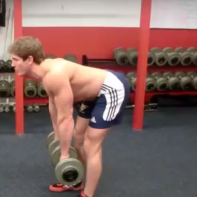 Dumbbell Romanian Deadlift II