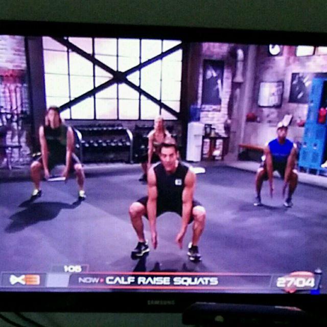 How to do: Calf Raise Squats - Step 2