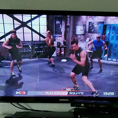 Run Stance Squats