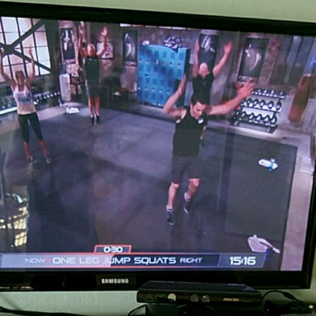 How to do: One Leg Jump Squats Right - Step 2