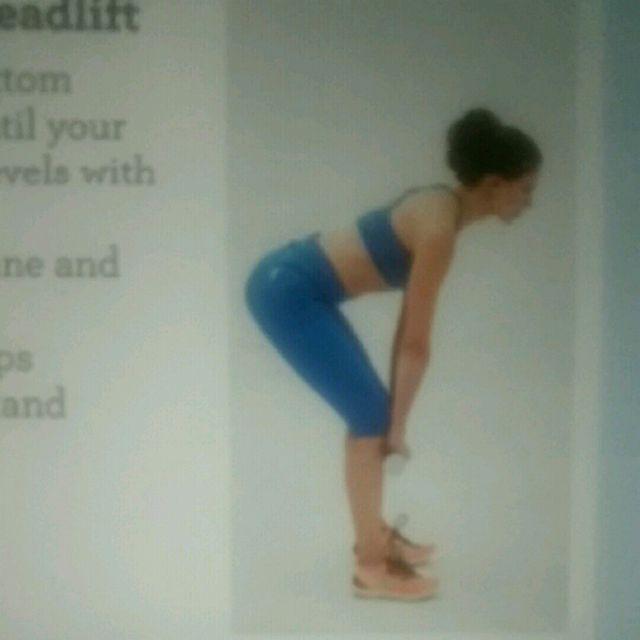 How to do: Butt-lift Dead Lift - Step 1