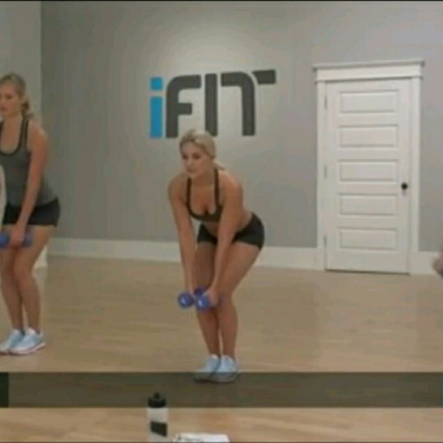 How to do: One Leg Deadlift To Reverse Fly - Step 6
