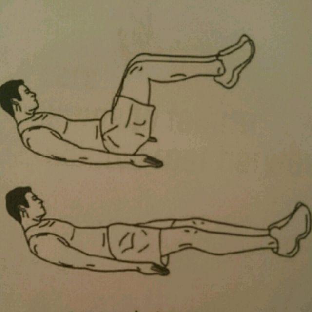 How to do: Crunch Kicks - Step 1