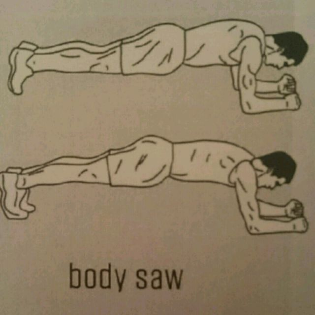 How to do: Body Saws - Step 1