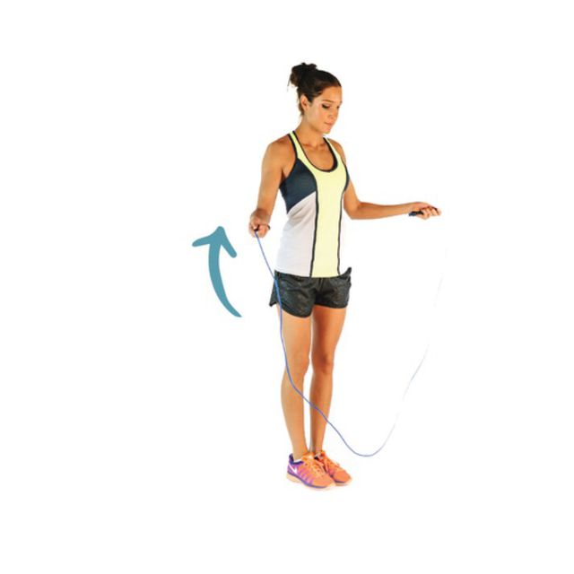 How to do: Skipping Rope - Step 1