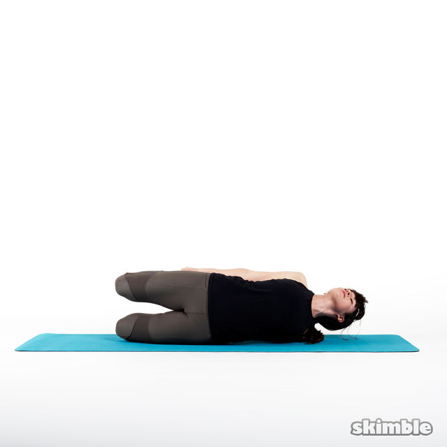 How to do: Sideways Bow Pose - Step 2