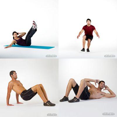 pete's workouts