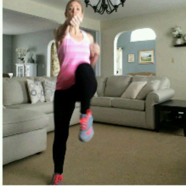 How to do: High Knee Jab - Step 2