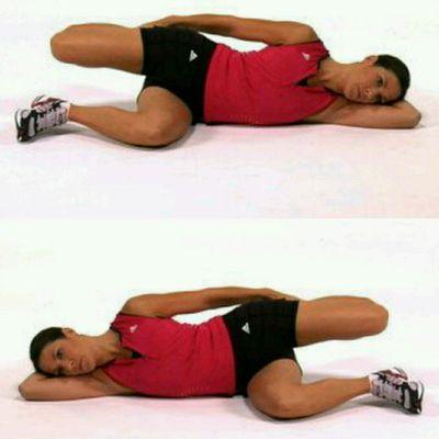 thigh and hip flexor stretch