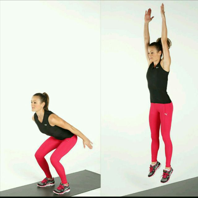 How to do: Pushup Jump Ups - Step 2