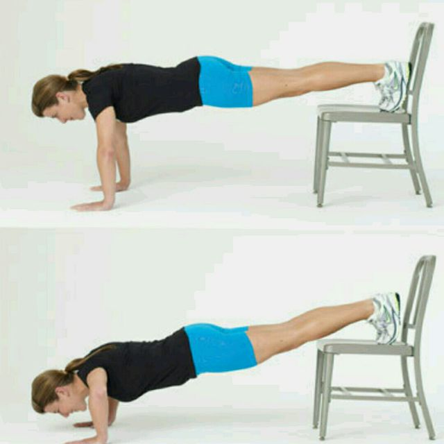 How to do: 4 Pushups - Step 2