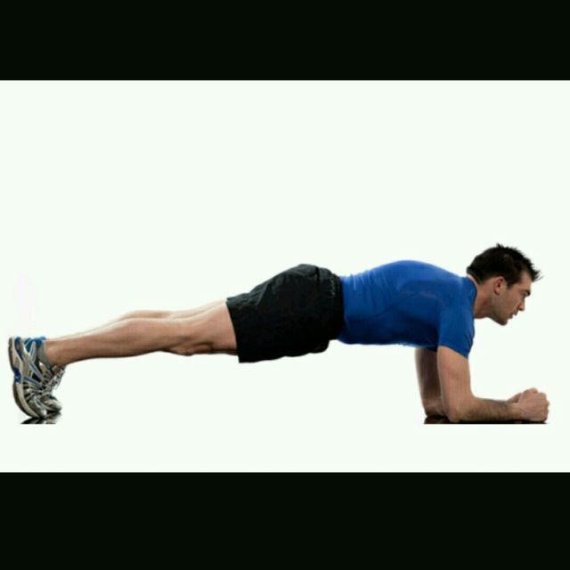How to do: Plank Pushup - Step 1