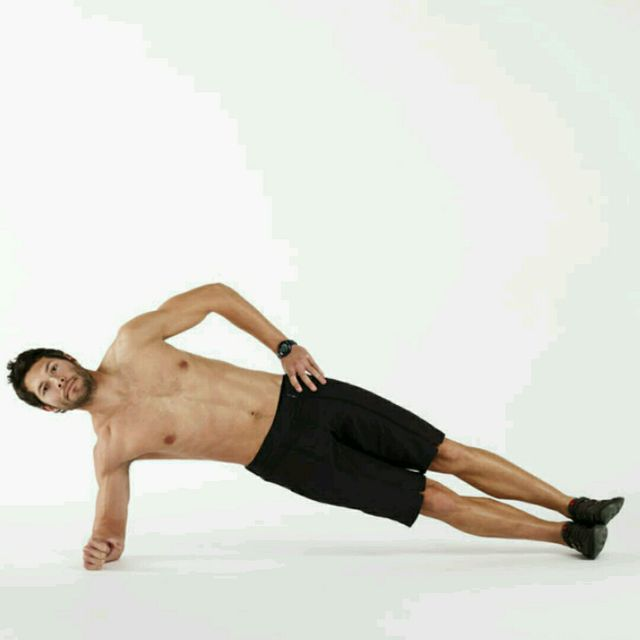 How to do: One Armed Side Plank - Step 1