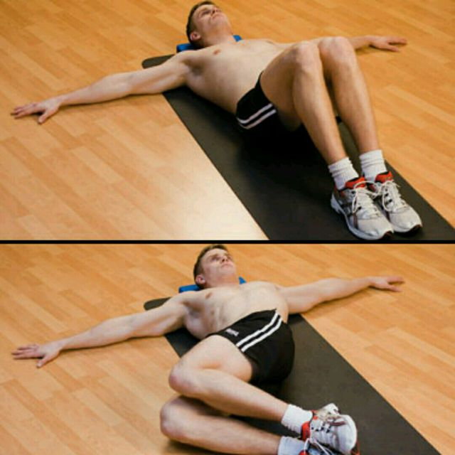 How to do: Knee Rolls - Step 1