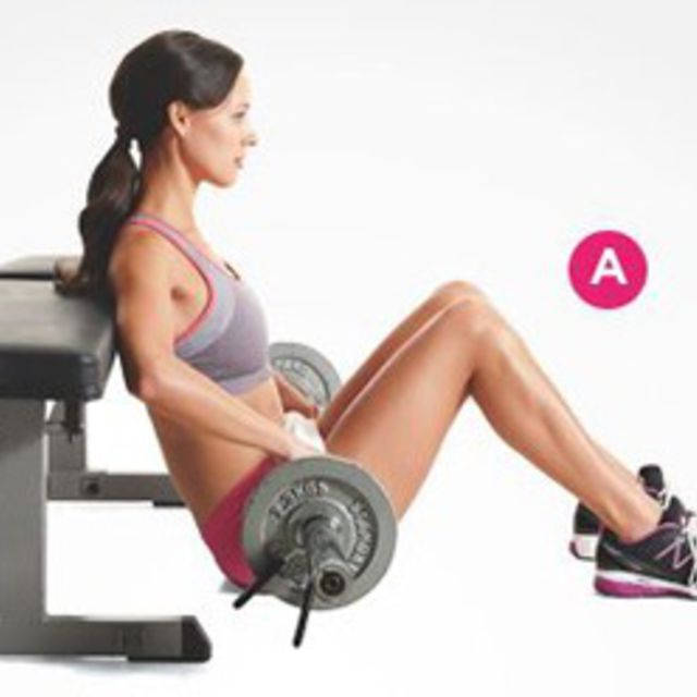 How to do: Barbell Hip Thrusts - Step 1