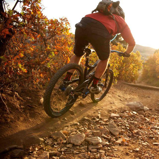 How to do: Mountain biking - Step 1