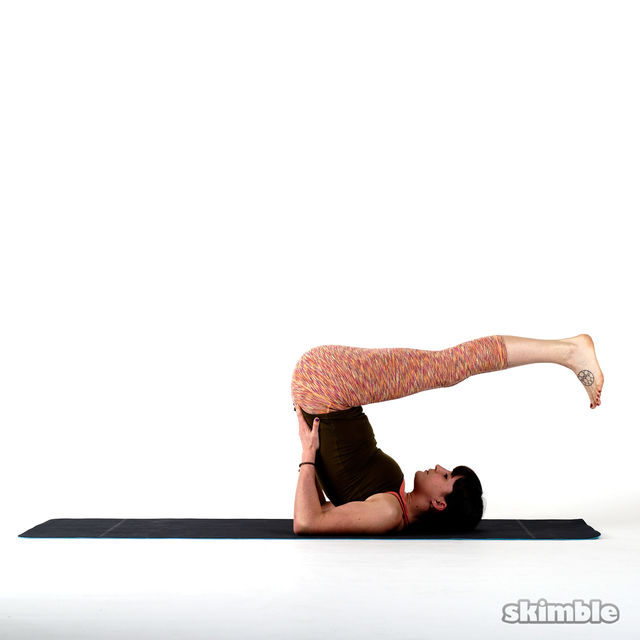 How to do: Shoulderstand - Step 4