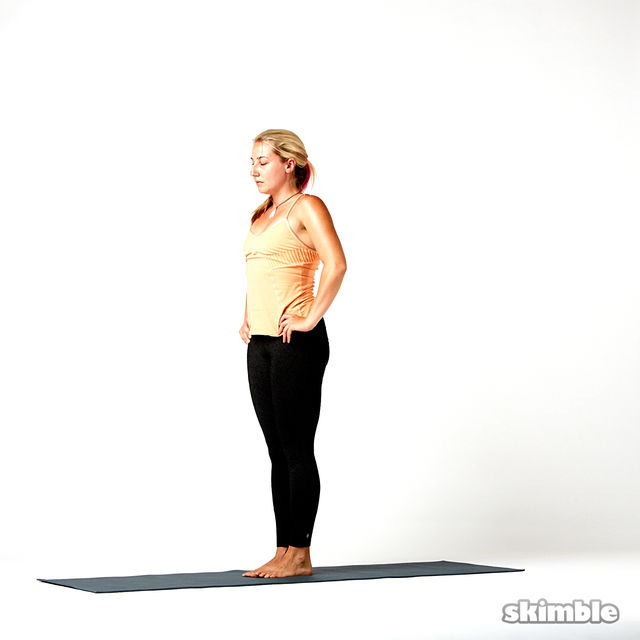 How to do: Eagle Arm Airplane to Right Splits - Step 7