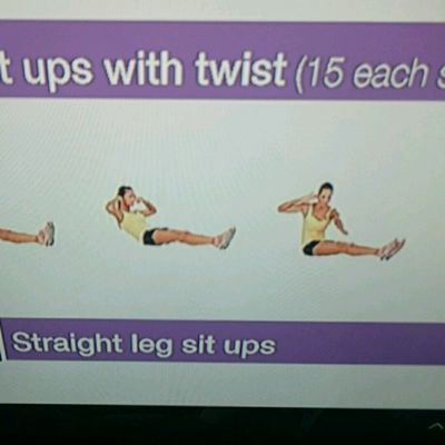 Sit Ups With Twist