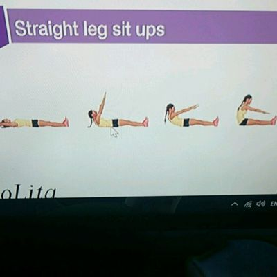 Straight Leg Situps