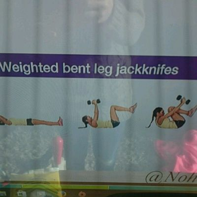 Weight Bent Leg Jackknife
