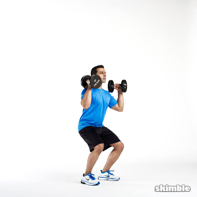 How to do: Dumbbell Push Press - Step 1