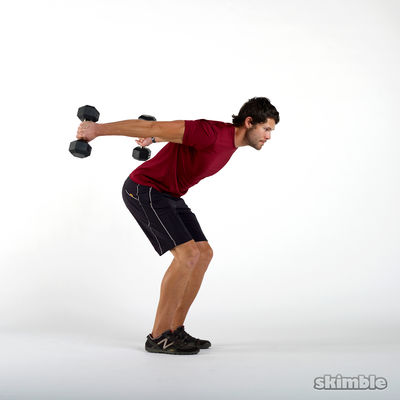 Two-Arm Tricep Kickbacks