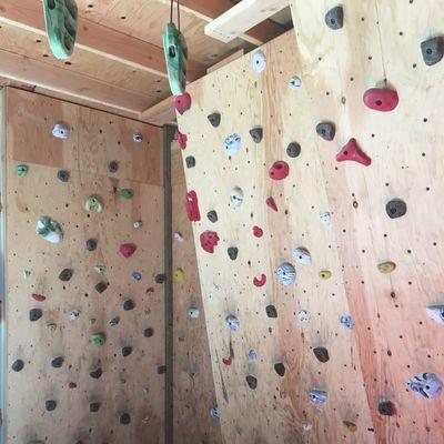 Climb Bouldering Wall