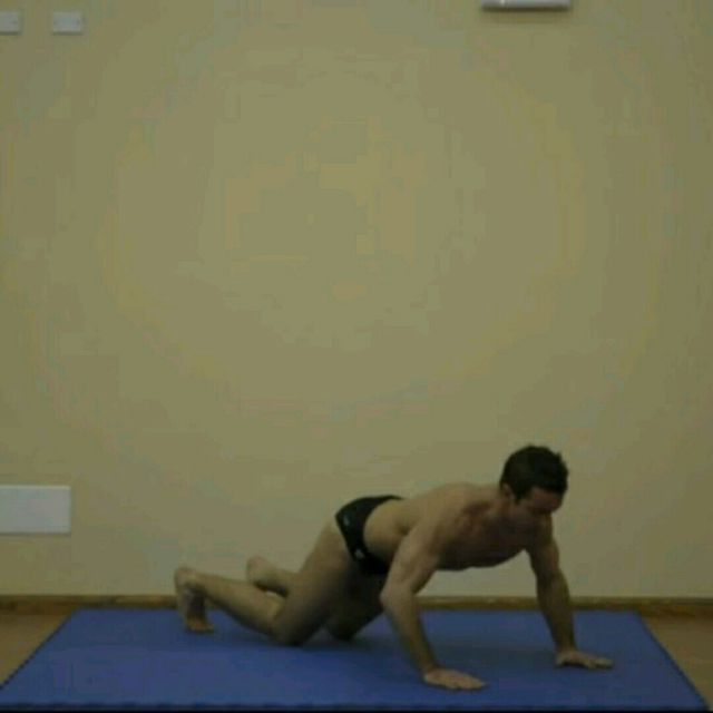 How to do: Body Push Up SS - Step 2