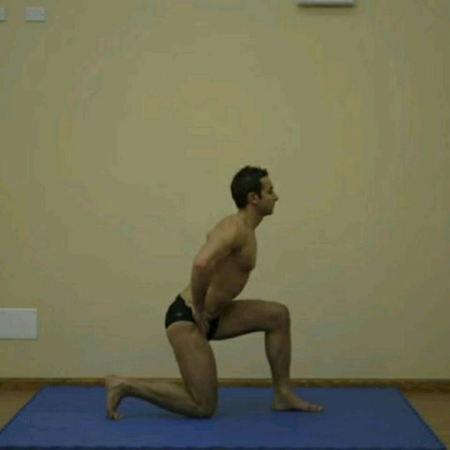 How to do: Back Lunge SS - Step 2