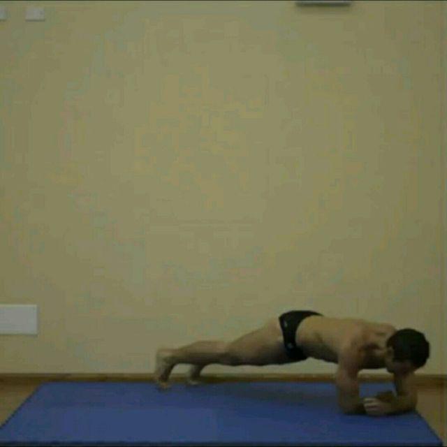 How to do: Side Snake Walk SS - Step 1
