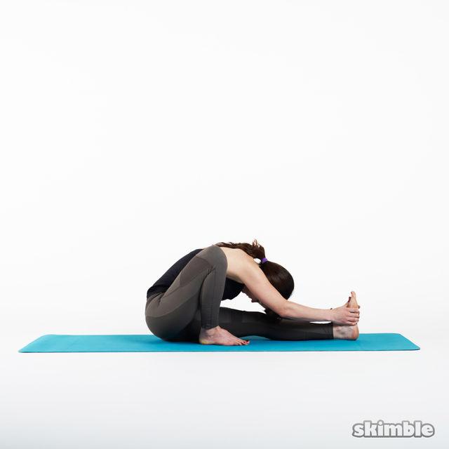 How to do: Sage Pose - Step 3